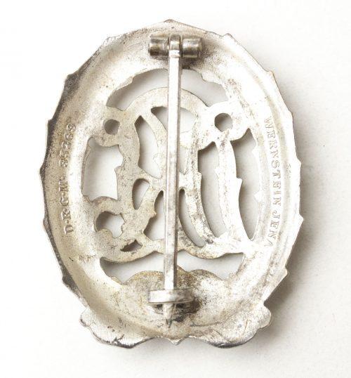 DRL Deutsches Reichssportabzeichen in silver (Wernstein Jena)