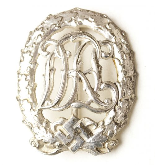 DRL Deutsches Reichssportabzeichen in silver and NAMED! (Wernstein Jena)
