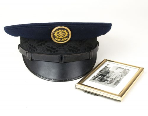 Deutsche Arbeitsfront (DAF) Schirmmütze / German Labour Corps Visor Cap with photo
