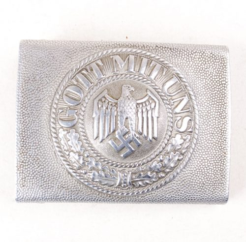 Heer silver parade/privat buckle Gott mit Uns