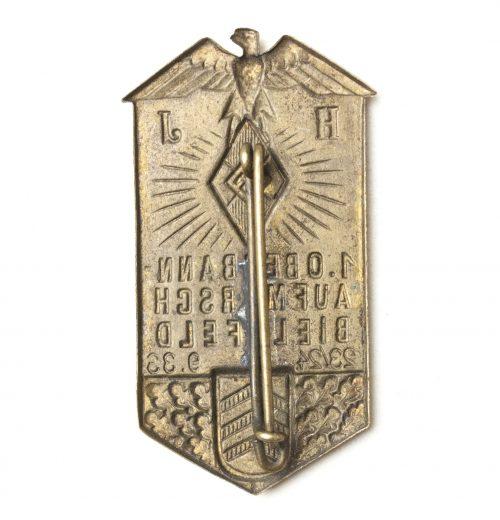 Hitlerjugend / HJ 1.Oberbann Aufmarsch Bielefeld 23/24.9.33 badge