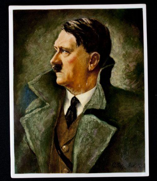 Rosenthal porcelain Hitler Plaque