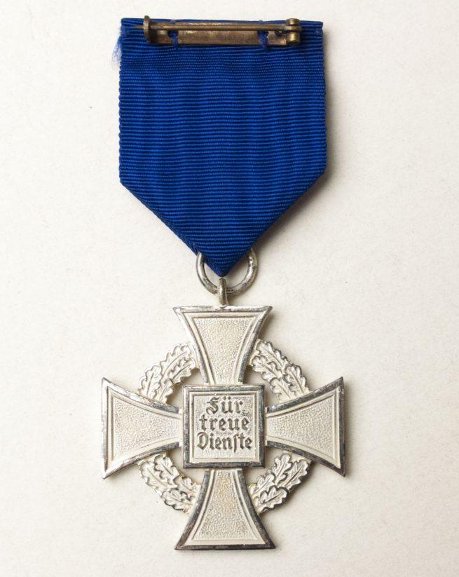 Treue Dienst 25 jahre medal + etui