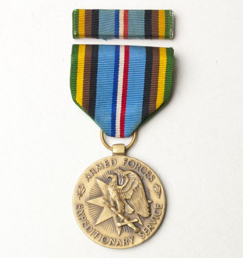 US Armed Forces Expeditionary medal with ribbon