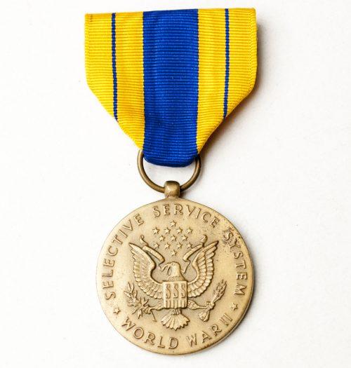 US Selective Service Medal World War II
