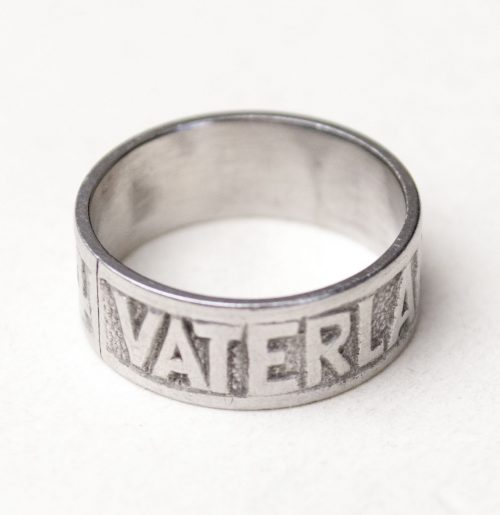 WWI patriotic ring: Vaterlandsdank 1914