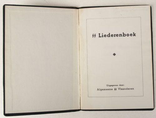 Algemeene SS-Vlaanderen - SS Liederenboek