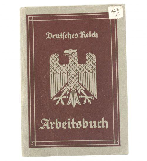 Arbeitsbuch 1st type from Marktredwitz