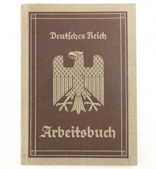 Arbeitsbuch first type from Stendal (1935)
