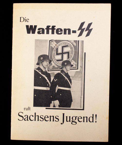 Die Waffen-SS ruft Sachsens Jugend!