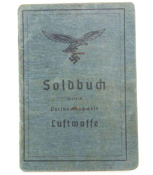 Fallschirmjäger (FJ) Soldbuch - 2./Fallsch. Jg. Ers. Btl. Stendal