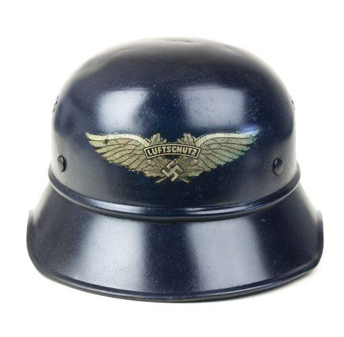 German WWII RLB Reichsluftschutz gladiator helmet