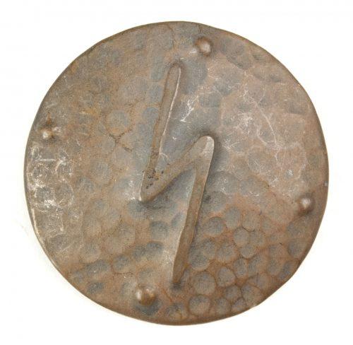 German WWII female cultural rune brooch with sig-rune