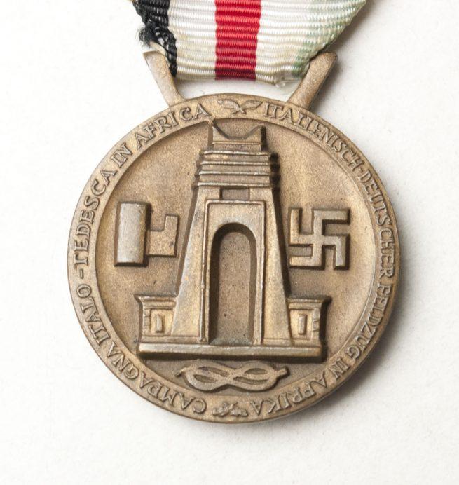 Italienische Feldzug in Afrika medaille in bronze / Italian-German Campaign medal in bronze