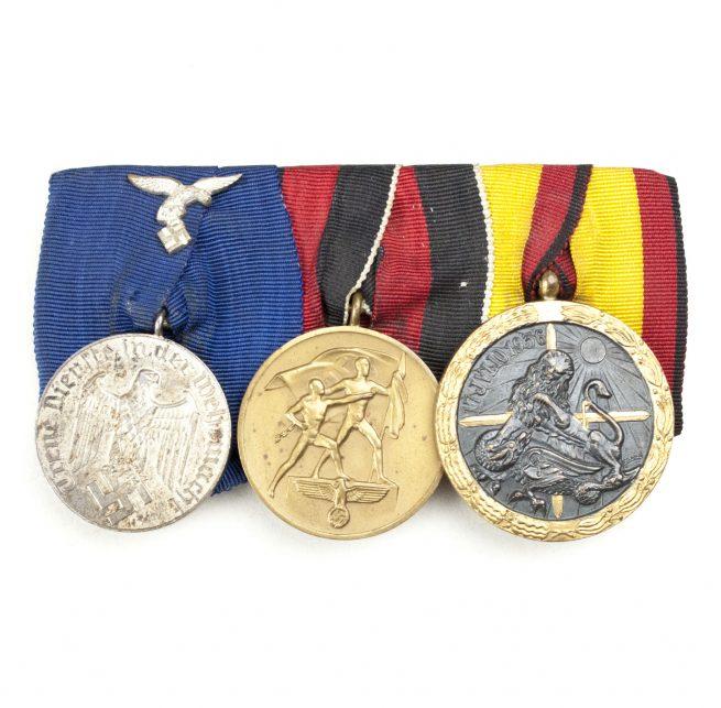 Legion Condor Luftwaffe medalbar (Spanish Civil War)