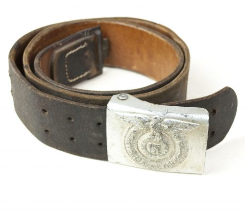 SS buckle + belt (maker Overhoff & Cie)