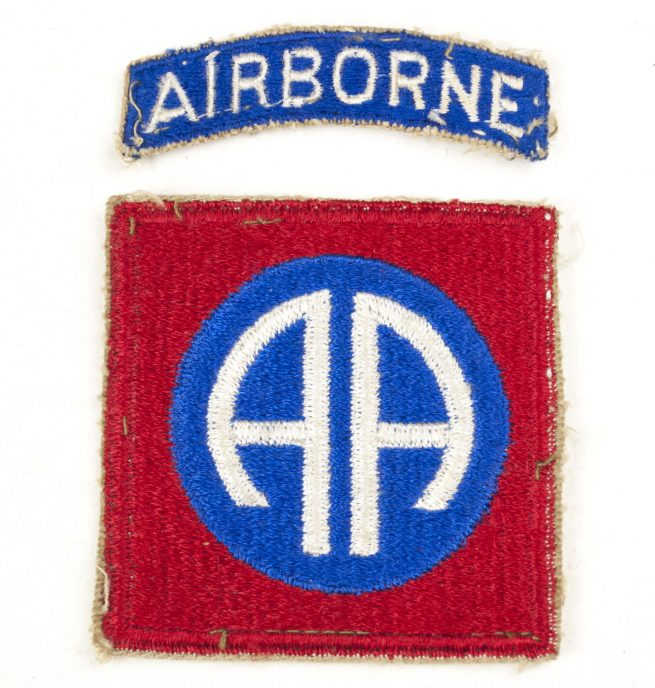 US WW2 82nd Airborne Division Patch
