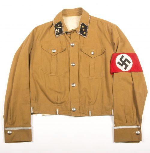 "WWII SA Officers ""Sturmfuhrer"" brownshirt Sturm 4/25 from Berlin-Brandenburg"