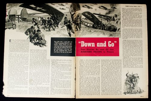 Yank Vol 3 No.3 July 1944 Airborne Operations in France
