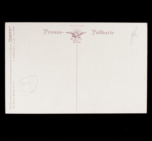 """(postcard) WWI - Drk Deutsches Rotes Kreuz """"Wie er das Eisernes Kreuz Erwarb"""""""