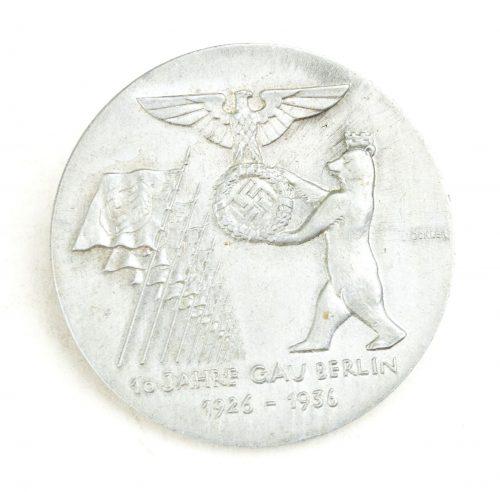 10. Jahre Gau Berlin 1926-1936 badge