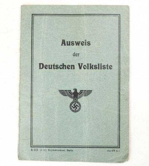 Ausweis der Deutschen Volksliste