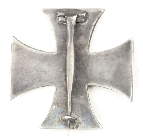 "Eisernes Kreuz 1.Klasse 1914 / Imperial 1914 Iron Cross first class (EK1) marked ""938"" made by Meybauer"