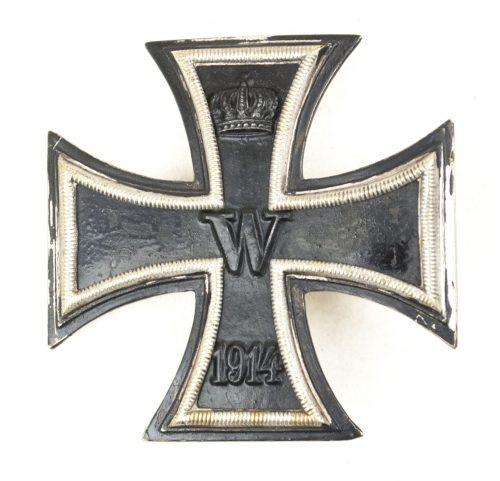 Imperial Iron Cross first class / Eisernes Kreuz 1. Klasse with interesting needle