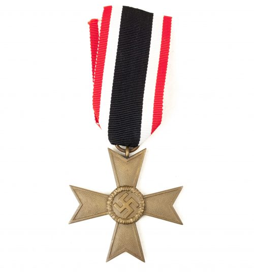 Kriegsverdienstkreuz ohne Schwerter (KVK) / War Merit Cross without Swords (maker Deschler)