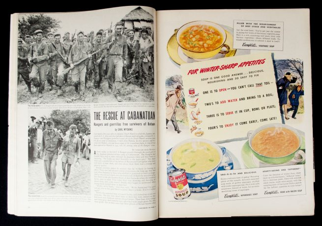 Life Magazine, February 26, 1945 - Winter soldiers