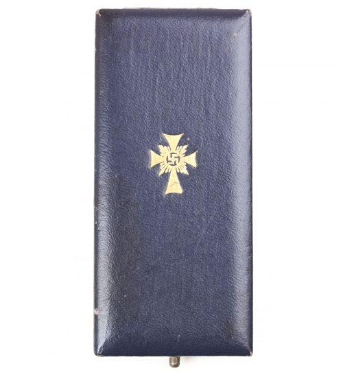 Mutterkreuz gold mit etui / Motherscross gold in case (maker Forster & Graf)