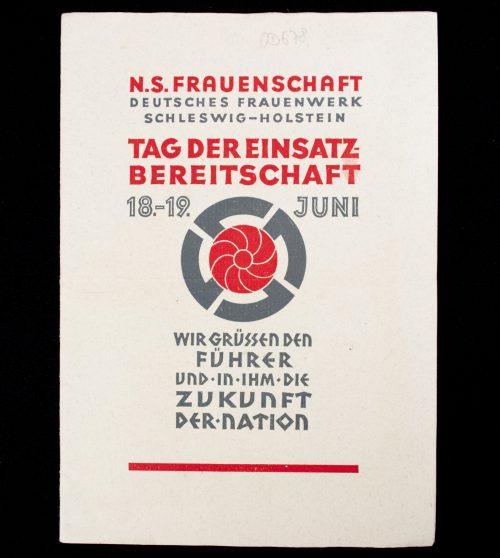 N.S. Frauenschaft Deutsches Frauenwerk Schleswig-Holstein