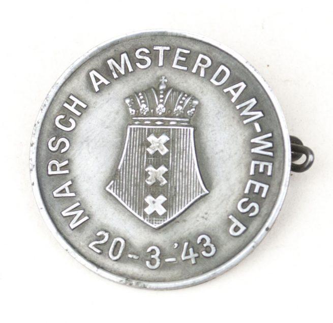 NSB Marsch Amsterdam-Weesp 20-3-'43 badge