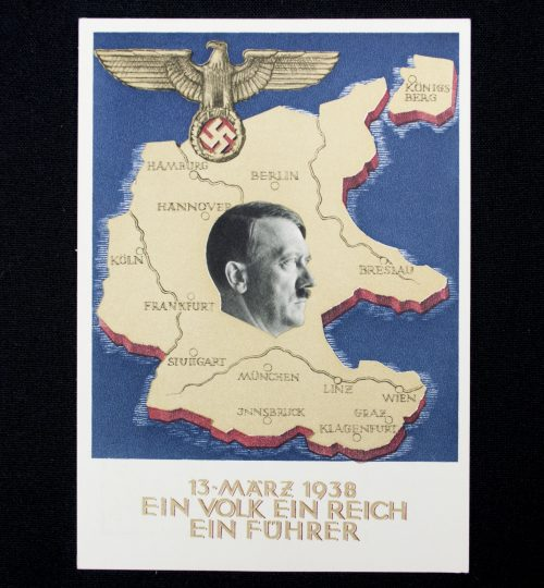 Postcard: Austria Anschluss 13 März 1938 postcard