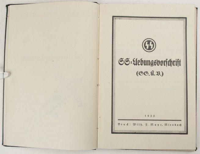 SS-Übungs Vorschrift (1933)