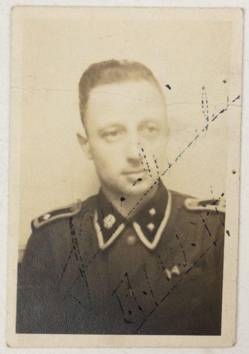 SS-Soldatenfreund 1944 with SS-Totenkopf Passphoto