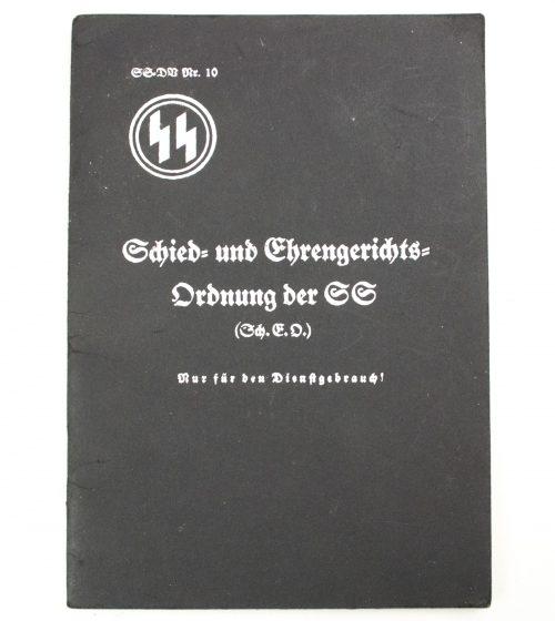 SS brochure: Schied- und Ehrengerichtsordnung der SS