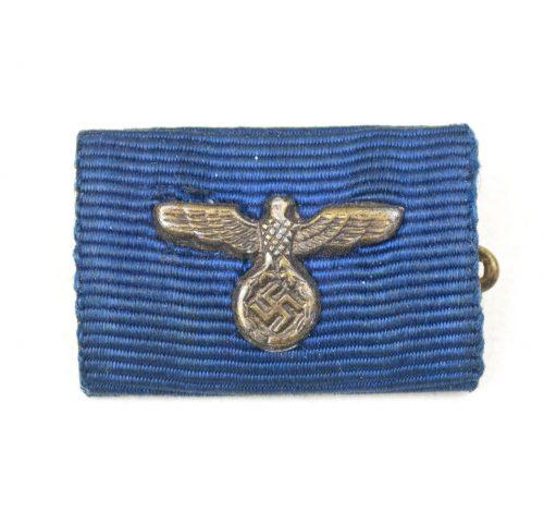 Single Ribbon (Feldspange) for a Wehrmacht Dienstauszeichnung 4 Jahre medal