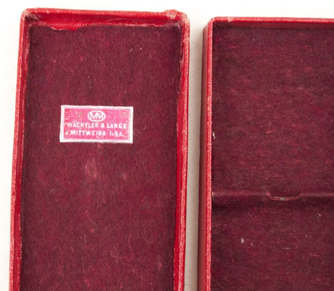 Treue Dienst 25 jahre medal + etui (by maker Wächter & Lange)
