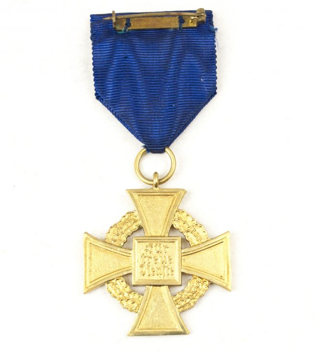 Treue Dienst 40 Jahre medal + etui