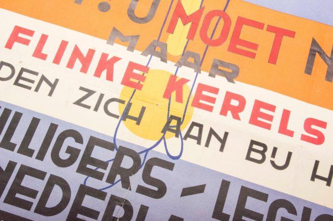 Vrijwilligers Legioen Nederland / Dutch Waffen-SS Poster (dated 1942)