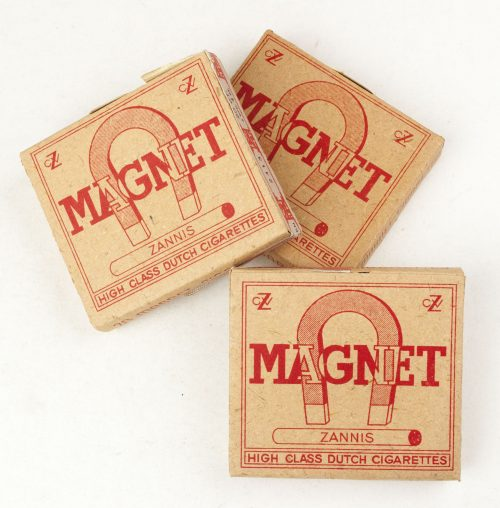 "WW2 Dutch Wartime ""Magnet High Class Dutch Sigarettes"" package"