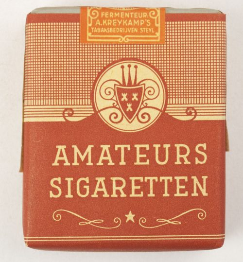 "WW2 Wartime ""Amateur Dutch Sigarettes by A. Kreykamps Tabaksbedrijven Steyl"""