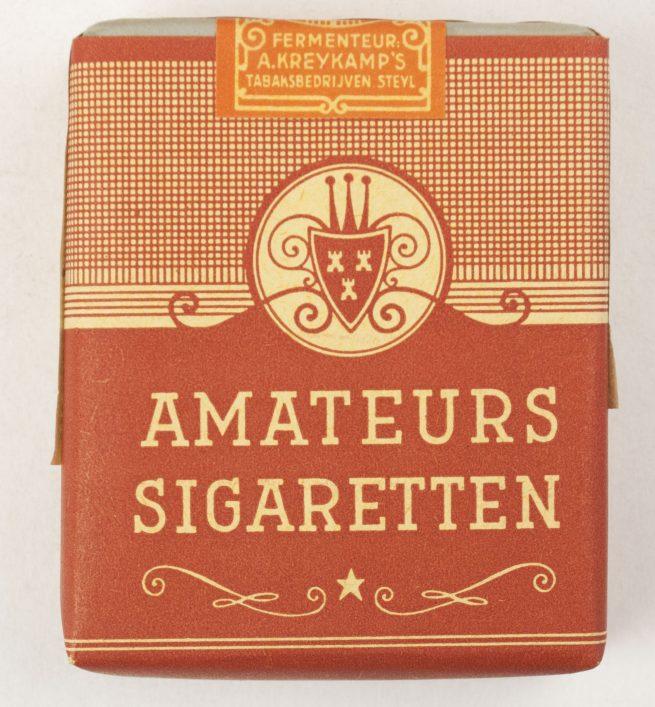 "WW2 Wartime ""Amateur Dutch Sigarettes by A. Kreykamps Tabaksbedrijven Steyl"""