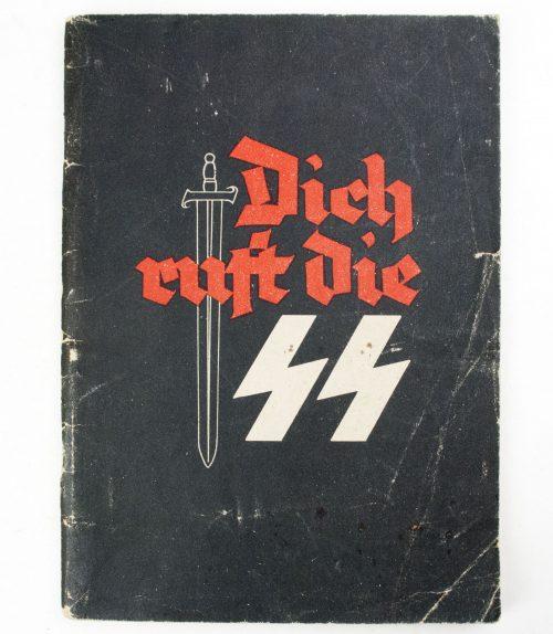 Waffen-SS Recruitment Brochure: Dich Ruft die SS