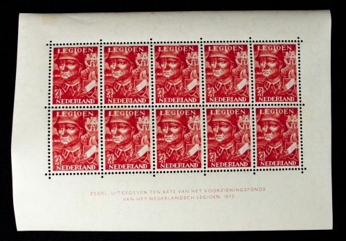 Dutch SS / Dutch Volunteer Legion stamps