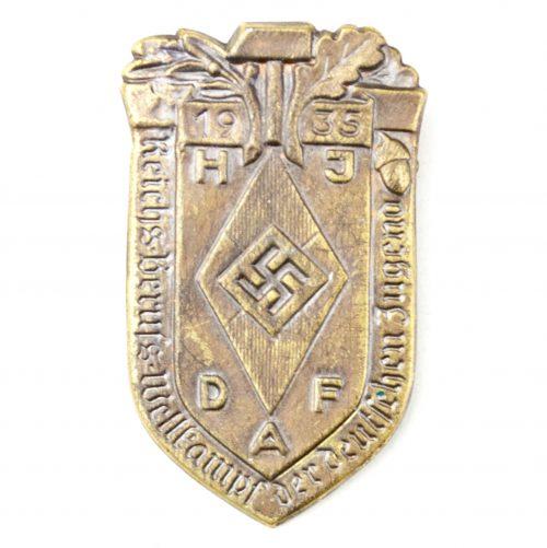 HJ Reichsberufswettkampf der Deutsche Jugend 1935 abzeichen