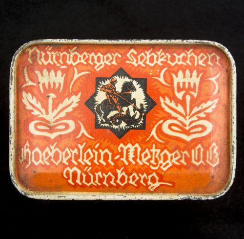 Haeberlein Metzger Nürnberger Lebkuchen vintage metalic box
