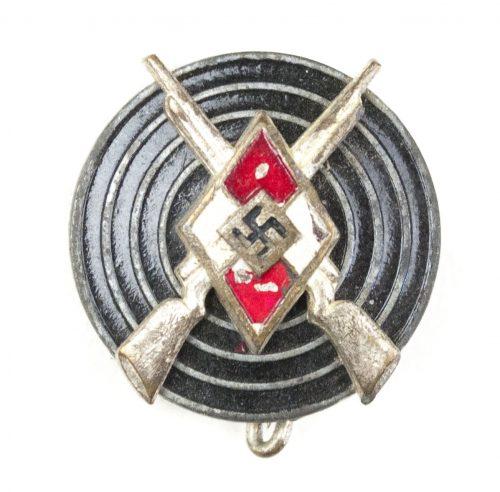 Hitlerjugend (HJ) Shooting badge / HJ Schießauszeichnung (maker Wilhelm Deumer)