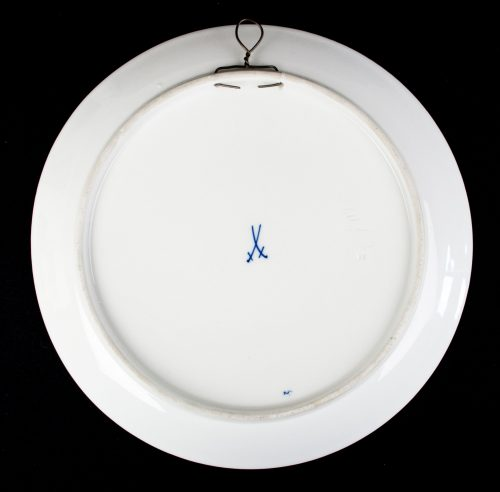 "Meisen porcelain plate ""Iron Cross 1914"""